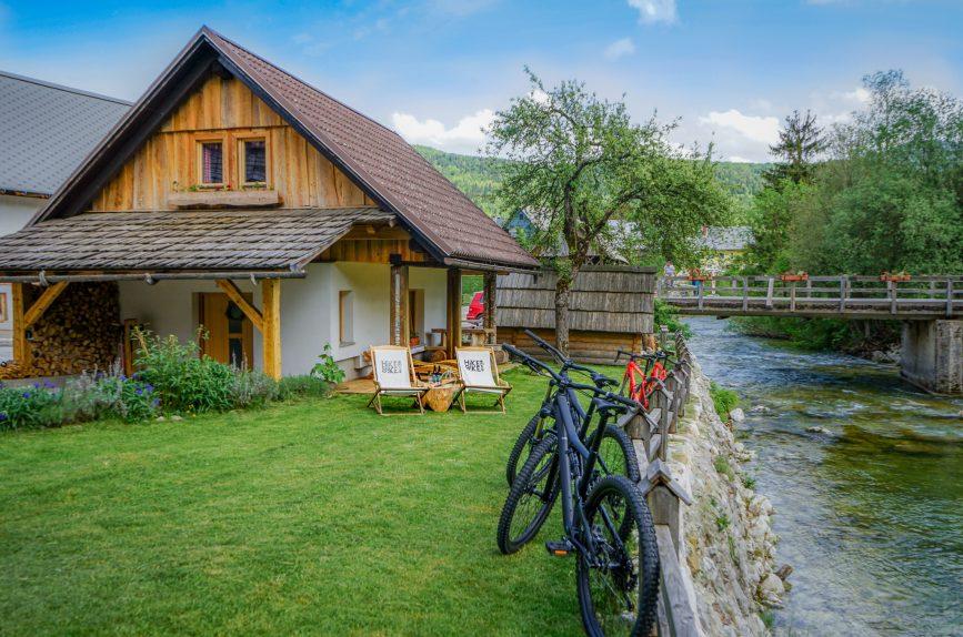 Počitniška hiša Hike&Bike