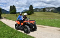 An adventure with four-wheelers