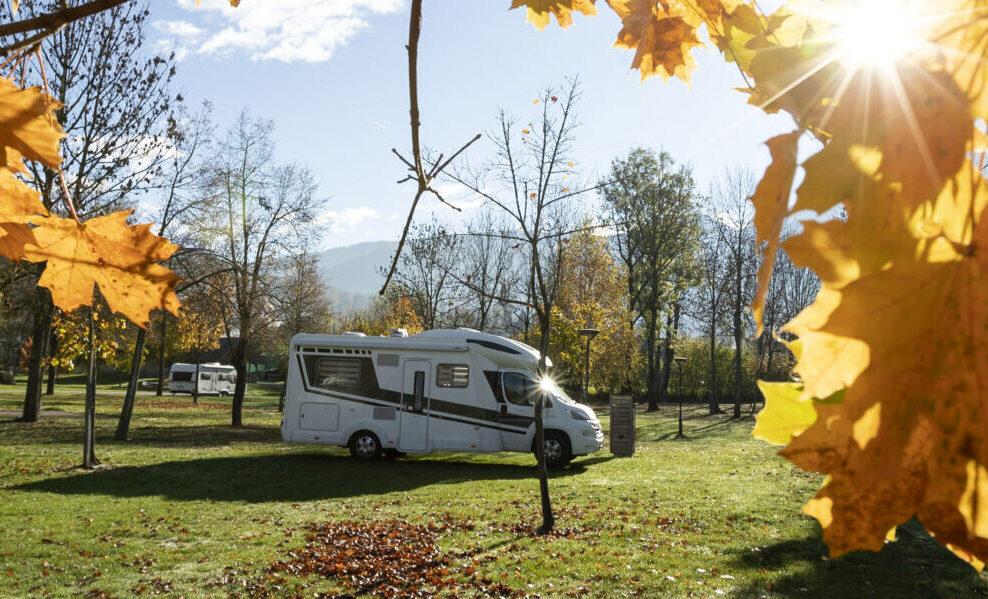 Jesen v kampu Danica